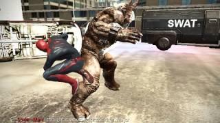 The Amazing Spider-Man PC GLITCH: UNSTOPPABLE/Frozen Rhino
