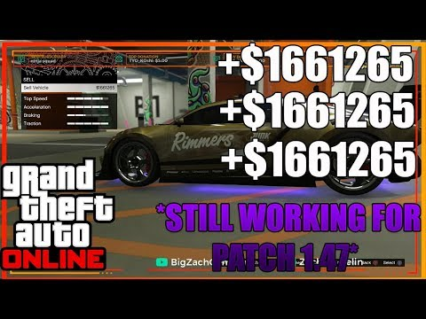 *NEW* SOLO UNLIMITED MONEY GLITCH CAR DUPLICATION GLITCH AFTER PATCH *1.47* (PS4/XBOX1/PC)