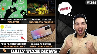 WhatsApp Privacy Policy Cancelled, Mumbai Gullies Indian GTA Game,POCO F2,Signal Down,iPhone 12S