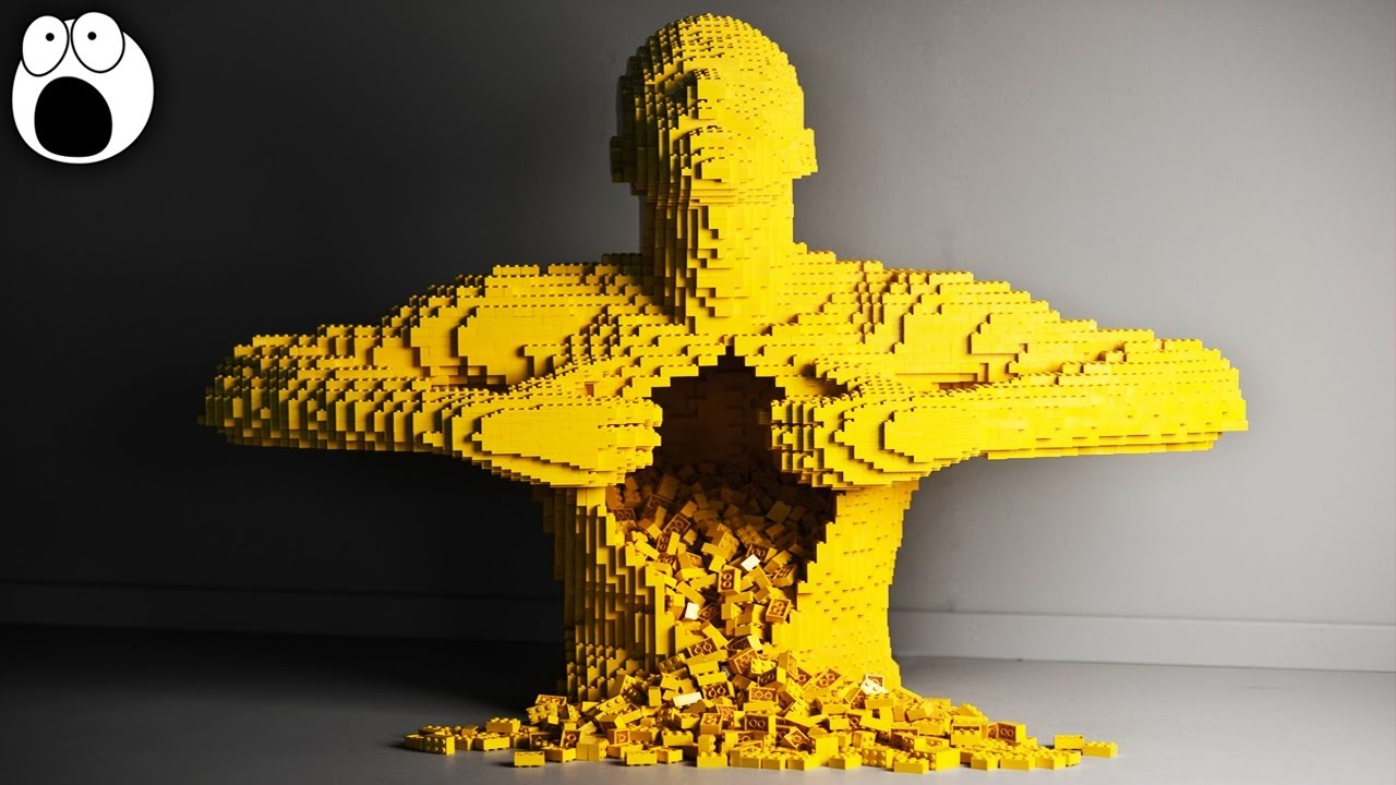 Top 20 Most Amazing Lego Sculptures Ever Made