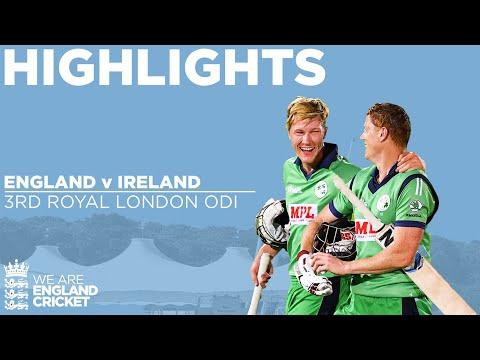 England v Ireland - Highlights | Stunning Ireland Win Thrilling Match In Final Over | 3rd ODI 2020