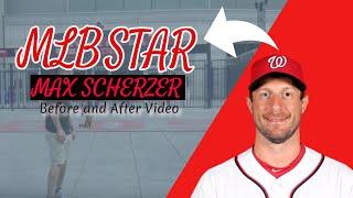 Mlb All Star/washington National's Pitcher: Max Scherzer's Dog Rafi With Testimonial!