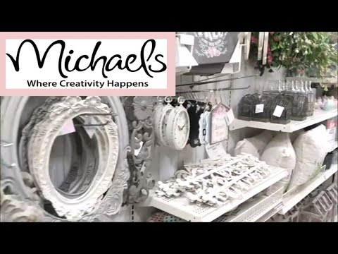 Michaels St. Patty's & Shabby Chic Decor Shop with Me!