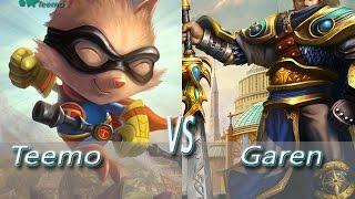League of Legends - Super Teemo vs Garen - Ranked Unofficial Penta Kill 5.17 Reworks