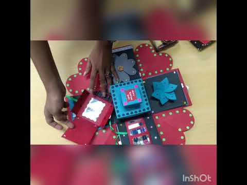 Creative Handmade Birthday Gift Box For Your Best Friend
