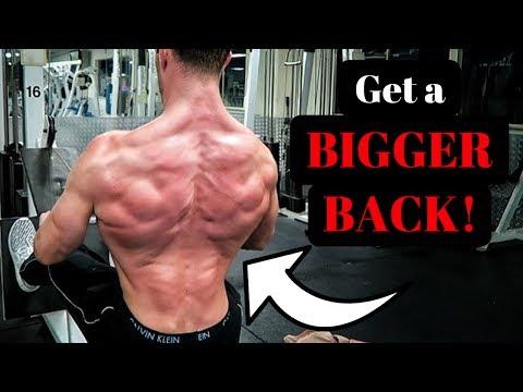 3 Easy Moves For Building A Bigger Back