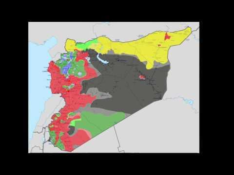 Syrian Civil War Update 2017