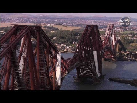 Scotland from Above Edinburgh to Fingals Cave Route HD