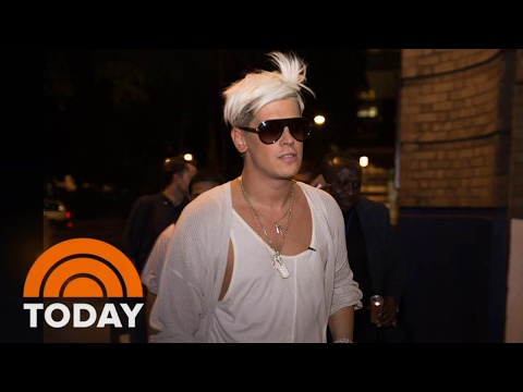 Violent Protests At UC Berkeley Prevent Milo Yiannopoulos Event | TODAY