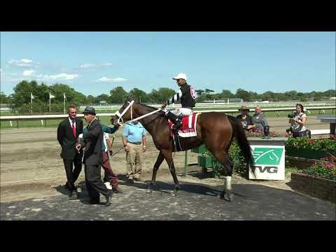 video thumbnail for MONMOUTH PARK 6-22-19 RACE 7 – THE EATONTOWN STAKES