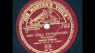 Reinhold Svensson spikpiano - Den gula paviljongen