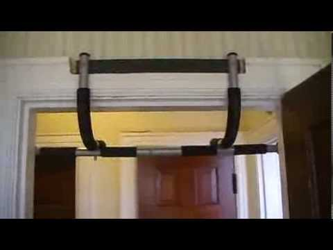 Installing Iron Gym On Door With Huge Trim Frame Youtube