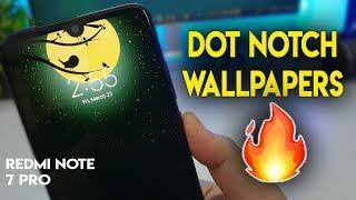 Redmi Note 7 Pro Dot Notch Wallpapers | Aise Karein Notch HIDE