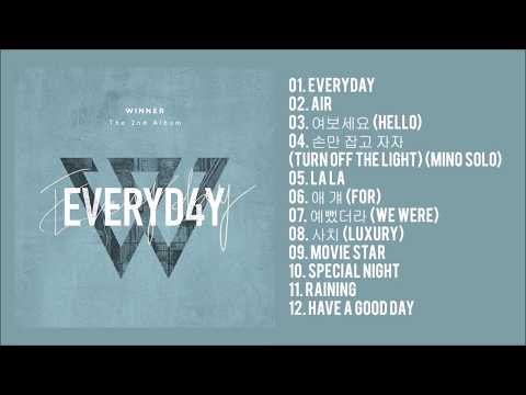 WINNER - EVERYD4Y (The 2nd Album)
