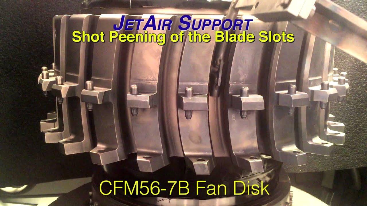 Cfm56 7b Shot Peening Youtube