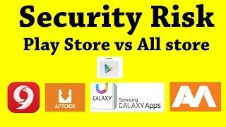 Google Play Store vs Aptoide vs 9Apps | Security risk of top play store alternative screenshot 4