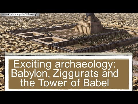 EXCITING: Archaeology  Babylon, Ziggurats and the Tower of B
