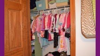 Baby Closet Organization - Natalie Closet Tour!