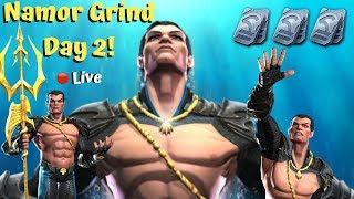 5* Namor Grind! Day 2! Live! - Marvel Contest Of Champions