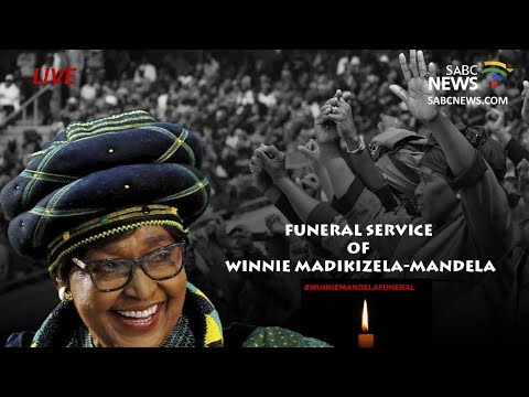 Winnie Madikizela-Mandela's official funeral proceedings, 14 April 2018