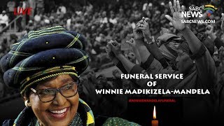 Winnie Madikizela-Mandela's official funeral proceedings, 14 April 2018