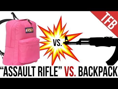 """Assault Rifle"" vs. The Common Backpack: Are the AR15, AK47, and SBR MP5 Defeated by a Mere Bookbag?"