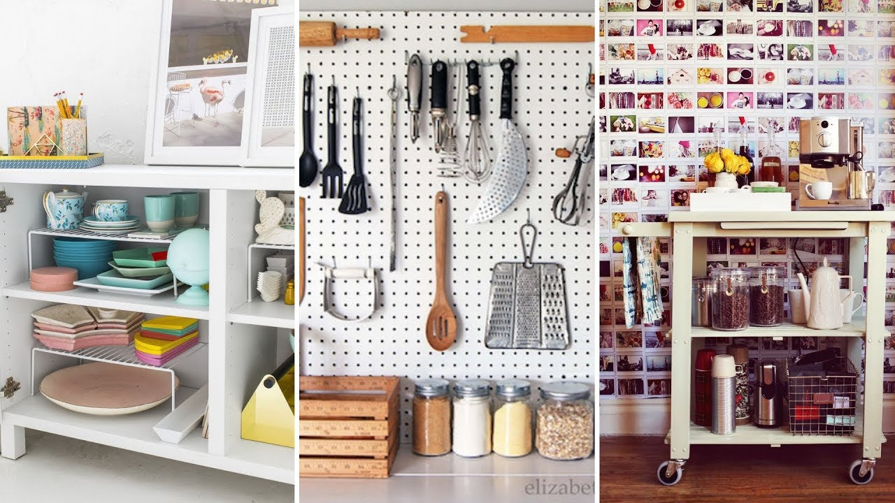 10 DIY Storage Ideas For Limited Kitchen And Dining Room ...