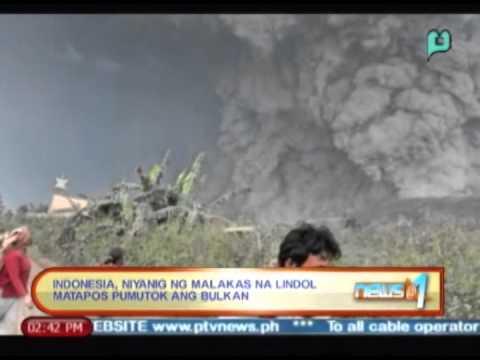 Globalita: Indonesia, nilindol matapos sumabog ang bulkan nito; US at Pakistan nagkasundo