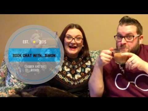 Book Chat with... My Booktube Pal SIMON | Lauren and the Books