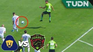 ¡Jugada polémica! Y no marcan penal | Pumas 0 - 0 Juárez | Liga MX - AP 2019  - J 18 | TUDN