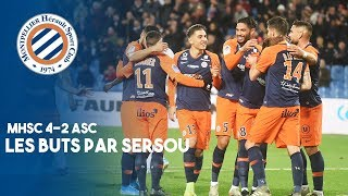 VIDEO: MHSC 4-2 ASC : LES BUTS PAR SERSOU !