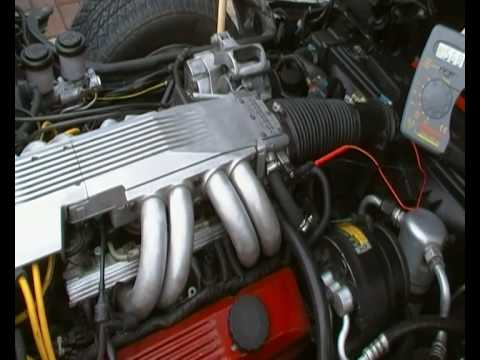 C4 1985 Corvette Bad Idling In Closed Loop Youtube