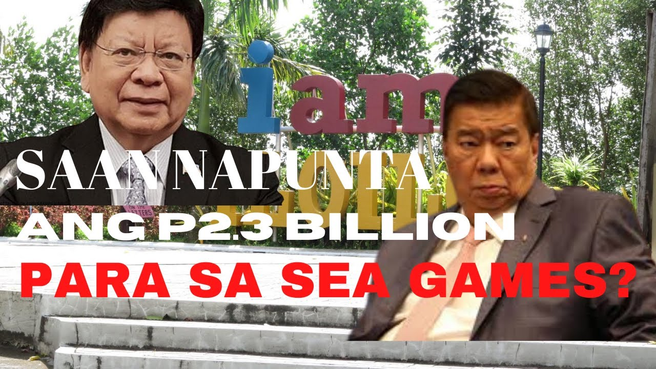 P2.3 BILLION NA BINAWAS NI DRILON SA 2019 SEA GAMES BUDGET: Saan ba napunta?