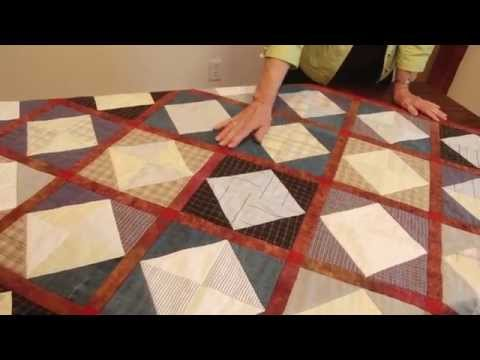Get Creative: Memory Quilts Using Shirts - Mill House Quilts' Tutorial 13