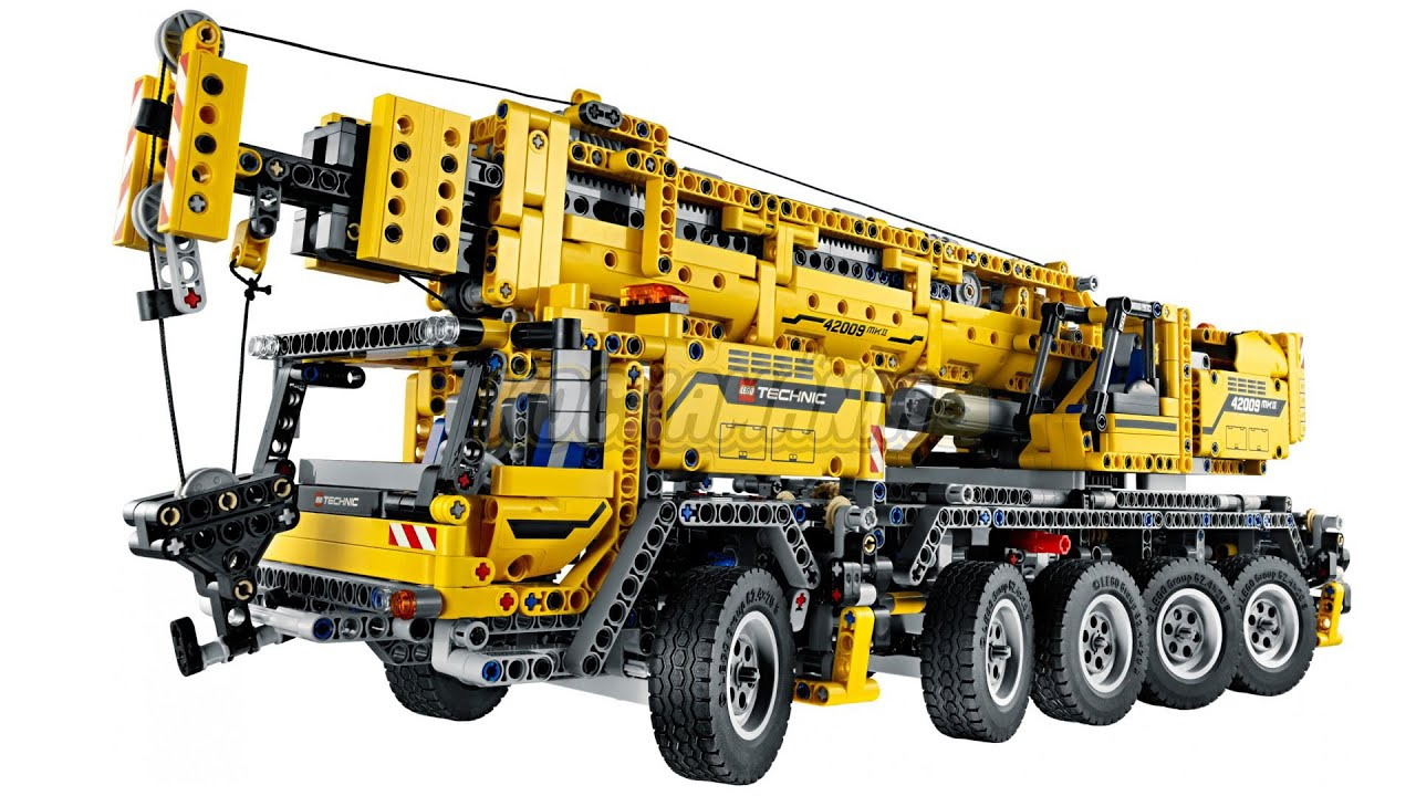 lego technic 42009 mobile crane mk ii review youtube. Black Bedroom Furniture Sets. Home Design Ideas