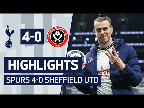 INCREDIBLE Gareth Bale Hat-Trick! HIGHLIGHTS | SPURS 4-0 SHEFFIELD UTD