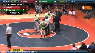 126 lbs Class 3A Match from the IHSA Individual Wrestling Cham…