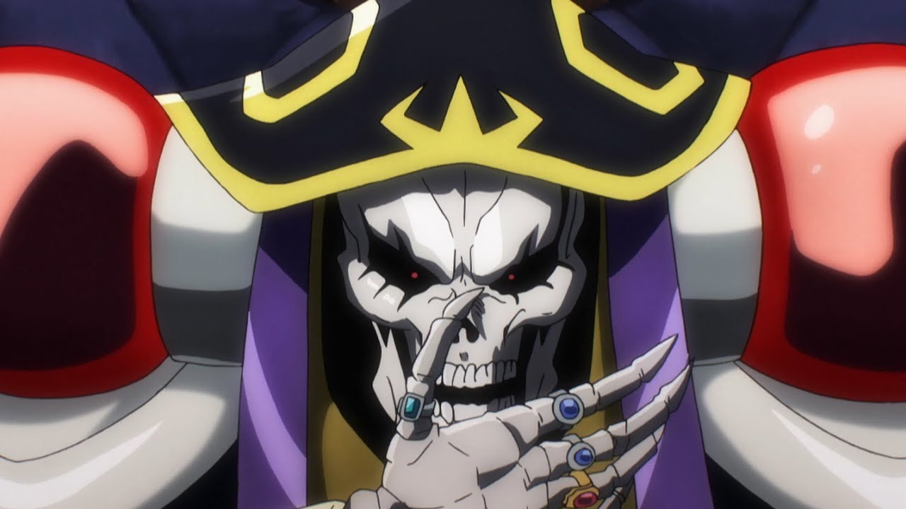 In Which I Watch Overlord Anime: The Random Review: Overlord