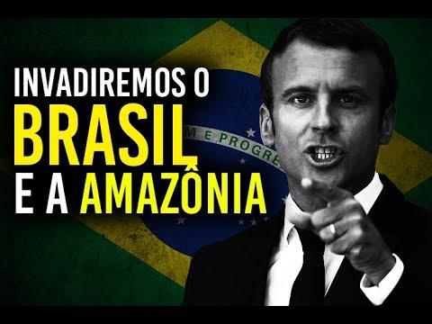 A FRANÇA vai INVADIR a AMAZÔNIA e o BRASIL? (Felipe Dideus)