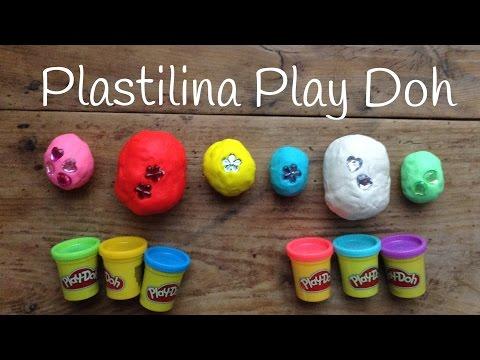 Huevos Kinder sorpresa Play Doh, ¡encuentra las sorpresas de Play Doh entre la plastilina!