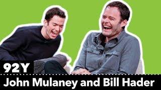 4 minutes of Bill Hader laughing with John Mulaney