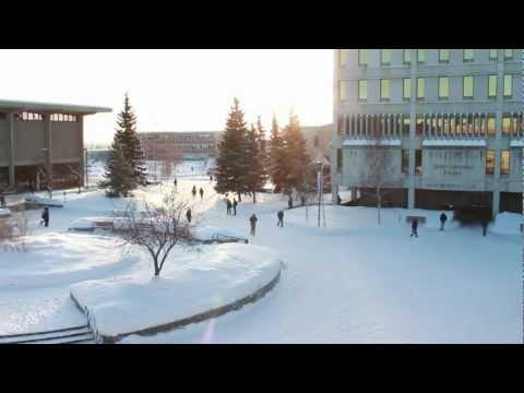University of Alaska Fairbanks time lapse taken from KSUA Offices