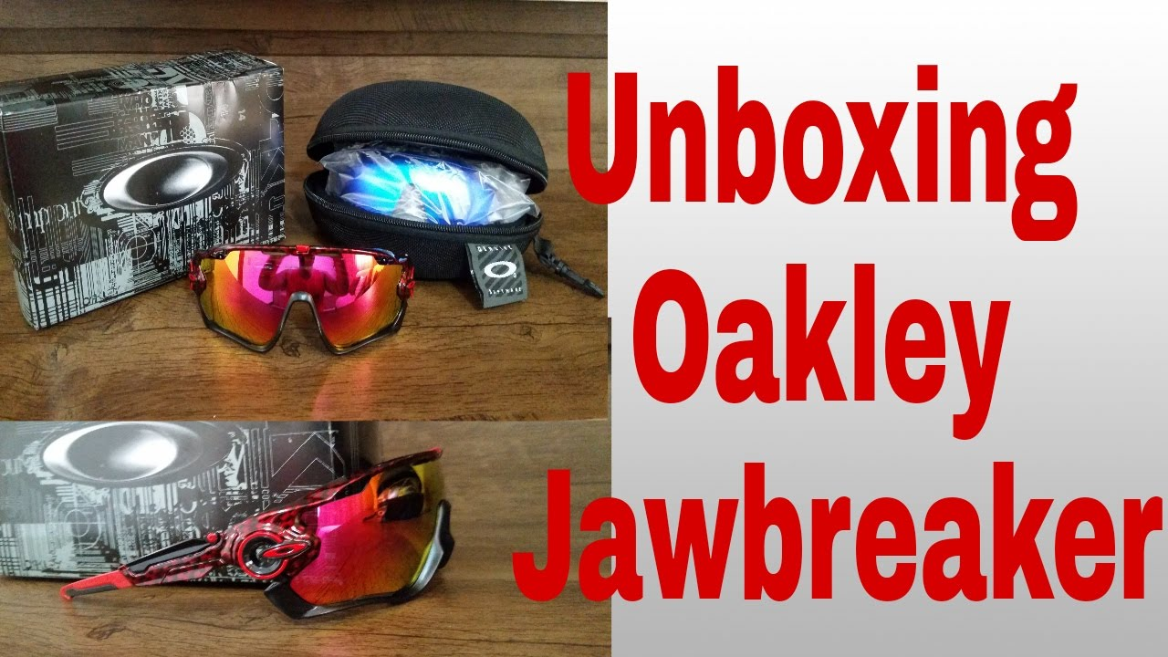 85c490f1f31e3 Unboxing - Oakley - jawbreaker - AliExpress - YouTube