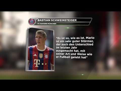 """Bastian Schweinsteiger: """"Ist so, wie es ist""""   Lob für Mario Mandzukic vom FC Bayern München"""