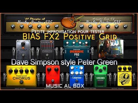 Bias FX2 Test sur le Backing Track de Dave Simpson (Peter Green)