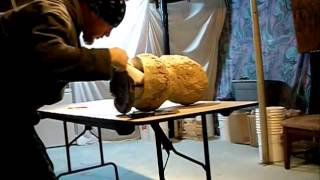 One piece mold making Tutorial video latex mask Creeping Death Productions Vol 3