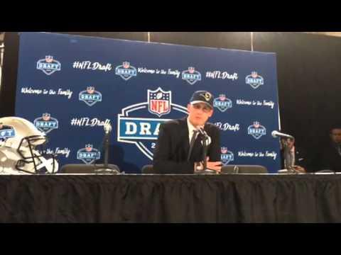 Jared Goff LA Rams NFL Draft 1st Round Pick #NFLDraft