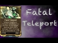 INSTA-KILL MOD- Fatal Teleport | WARFRAME