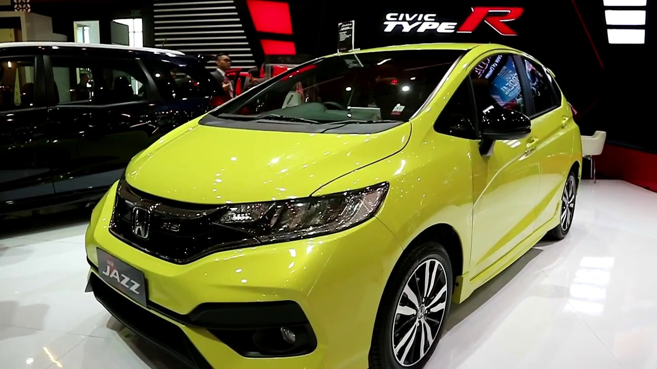 honda jazz rs new 2018 exterior and interior youtube. Black Bedroom Furniture Sets. Home Design Ideas