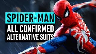 Spider-Man | 7 Alternative Suits Confirmed & Their Origins